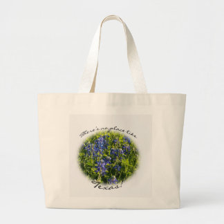 There's No Place Like Texas Bluebonnet Tote Bag
