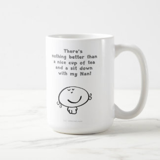 There's nothing better than a nice cup of tea and basic white mug