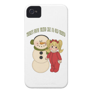 There's Snow Friend Like An Old Friend Blackberry  Blackberry Bold Cases
