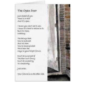 """Theresa Hartman """"The Open Door"""" Card"""