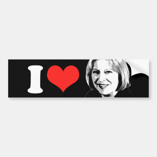 Theresa May Bumper Sticker