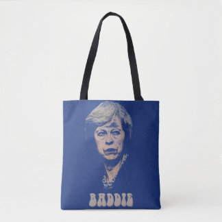 theresa may is a baddie tote bag