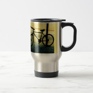 "Thermal jug with photo ""In the Alley "" Travel Mug"