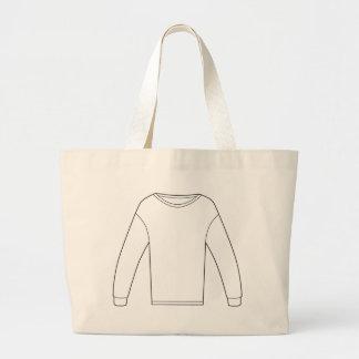 Thermal Long Sleeve Shirt Jumbo Tote Bag