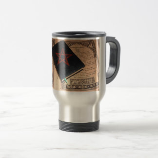 "Thermal mug ""Book of Is Cipriano. """