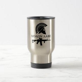 Thermal mug MOLON LABE METAL RING