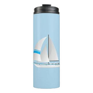 Thermal Tumbler-Sailboats Thermal Tumbler