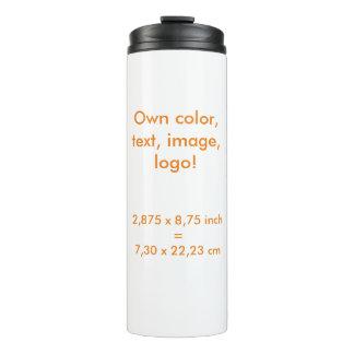 Thermal Tumbler uni White ~ Own Color