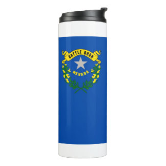 Thermal Tumbler with flag of Nevada, USA
