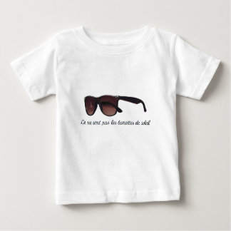 These are note sunglasses baby T-Shirt