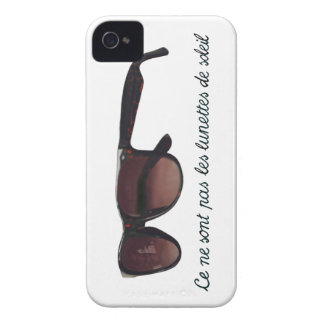These are note sunglasses Case-Mate iPhone 4 cases