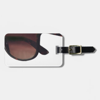 These are note sunglasses luggage tag