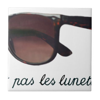 These are note sunglasses tile