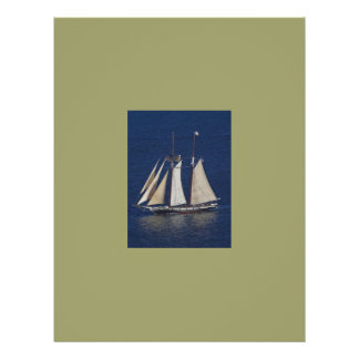 these are the days sailboat 21.5 cm x 28 cm flyer