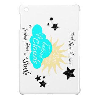 """These Broken Stars """"Smile"""" Quote iPad Mini Cover"""