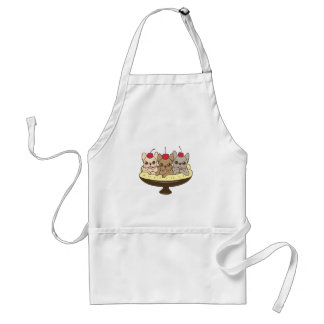 These Frenchies want to be your sweet banana split Standard Apron