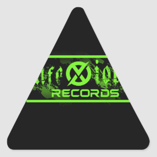 These products are offical merchandise. triangle sticker