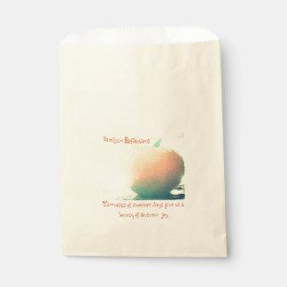 These Quiet Seasons Samhain Pumpkin Favour Bag