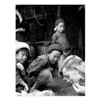 These two Chinese youngsters_War Image Postcard