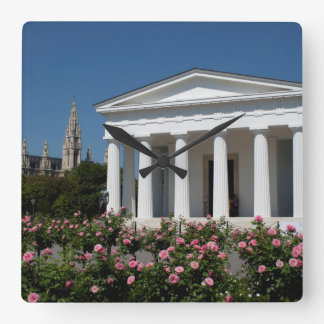 Theseus Temple Vienna Austria Wall Clock