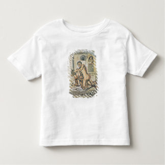 Theseus wrestling with the Minotaur Tee Shirt