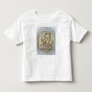 Theseus wrestling with the Minotaur Toddler T-Shirt
