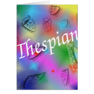 """Thespian"" Card"