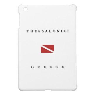 Thessaloniki Greece Scuba Dive Flag iPad Mini Cases