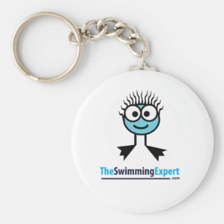 TheSwimmingExpert Swim Character Key Ring