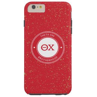 Theta Chi   Badge Tough iPhone 6 Plus Case