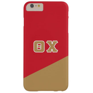 Theta Chi   Greek Letters Barely There iPhone 6 Plus Case