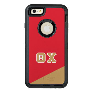 Theta Chi   Greek Letters OtterBox Defender iPhone Case