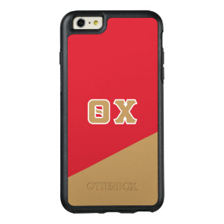 Theta Chi   Greek Letters OtterBox iPhone 6/6s Plus Case