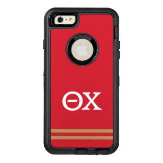 Theta Chi   Sport Stripe OtterBox Defender iPhone Case