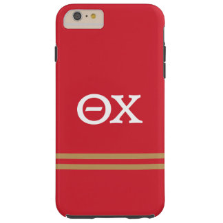 Theta Chi | Sport Stripe Tough iPhone 6 Plus Case