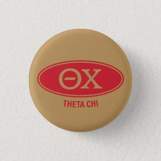 Theta Chi   Vintage 3 Cm Round Badge