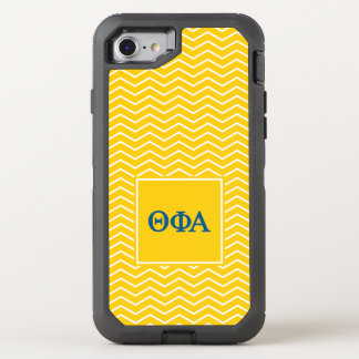 Theta Phi Alpha | Chevron Pattern OtterBox Defender iPhone 8/7 Case