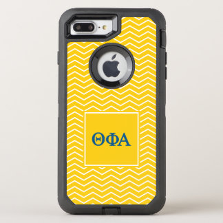 Theta Phi Alpha | Chevron Pattern OtterBox Defender iPhone 8 Plus/7 Plus Case