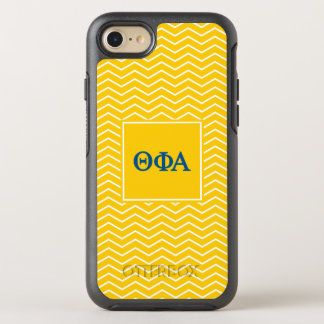 Theta Phi Alpha | Chevron Pattern OtterBox Symmetry iPhone 8/7 Case