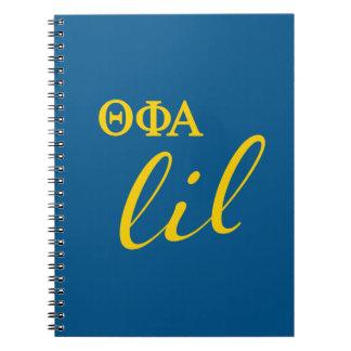Theta Phi Alpha Lil Script Notebook