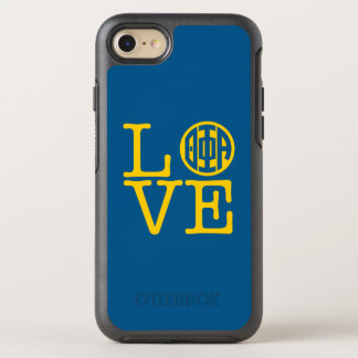 Theta Phi Alpha Love OtterBox Symmetry iPhone 8/7 Case