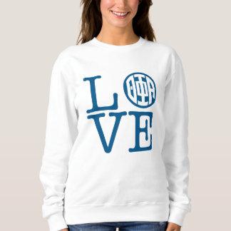 Theta Phi Alpha Love Sweatshirt