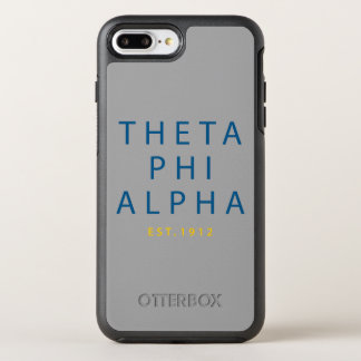 Theta Phi Alpha Modern Type OtterBox Symmetry iPhone 8 Plus/7 Plus Case