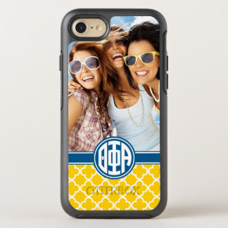 Theta Phi Alpha | Monogram and Photo OtterBox Symmetry iPhone 8/7 Case