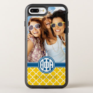 Theta Phi Alpha | Monogram and Photo OtterBox Symmetry iPhone 8 Plus/7 Plus Case