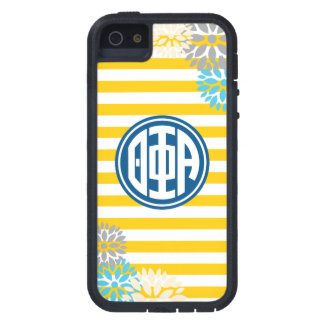 Theta Phi Alpha   Monogram Stripe Pattern iPhone 5 Covers