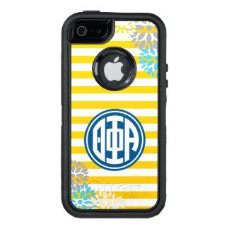 Theta Phi Alpha | Monogram Stripe Pattern OtterBox iPhone 5/5s/SE Case