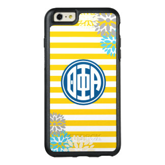 Theta Phi Alpha   Monogram Stripe Pattern OtterBox iPhone 6/6s Plus Case