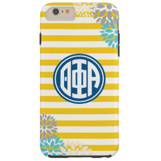 Theta Phi Alpha | Monogram Stripe Pattern Tough iPhone 6 Plus Case