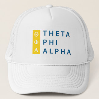 Theta Phi Alpha Stacked Trucker Hat
